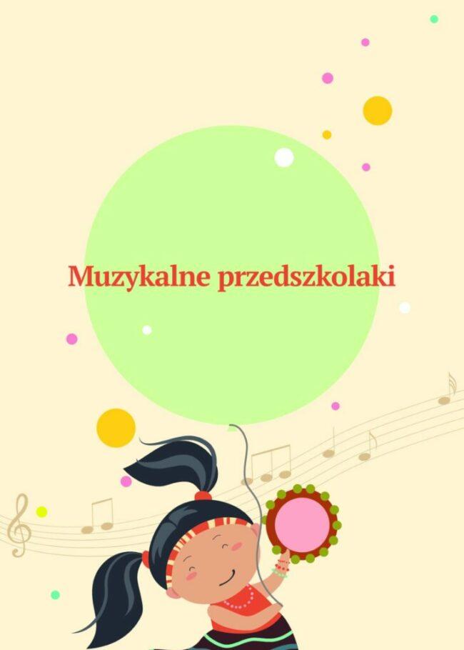 Muzykalne przedszkolaki -okładka przednia